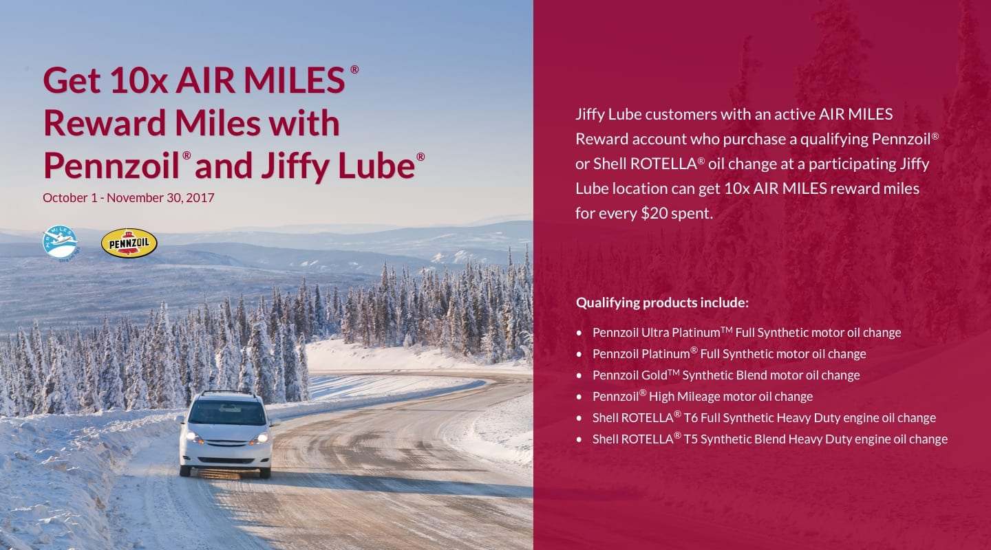 Jiffy lube coupons ontario canada